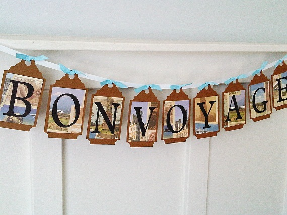 Bon Voyage Party Decoration Ideas & Becuo